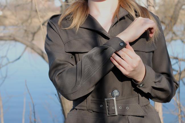 Jacket cuff detail