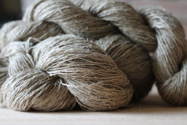 Flax Linen Handspun Yarn